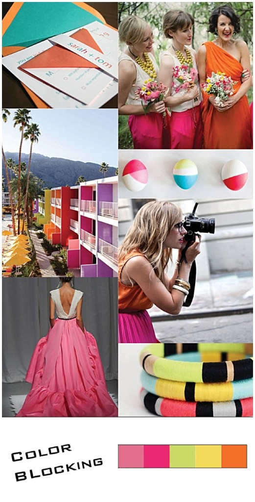 Color Blocking {Inspiration Board}