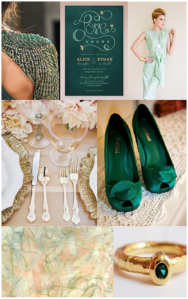 Emerald {Inspiration Board}