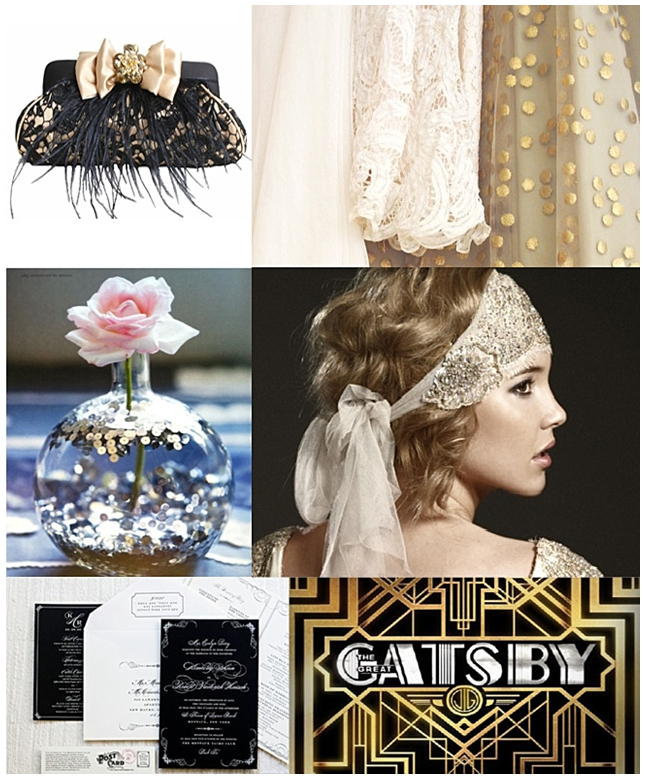 Great Gatsby {Inspiration Board}