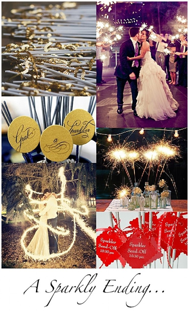 A Sparkly Ending {Inspiration Board}