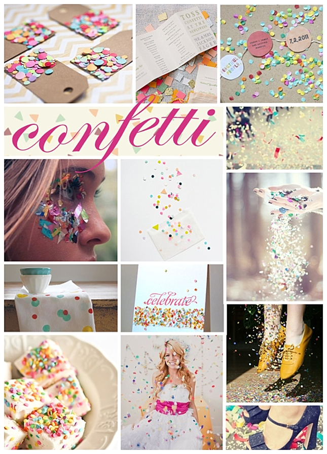 Confetti {Inspiration Board}