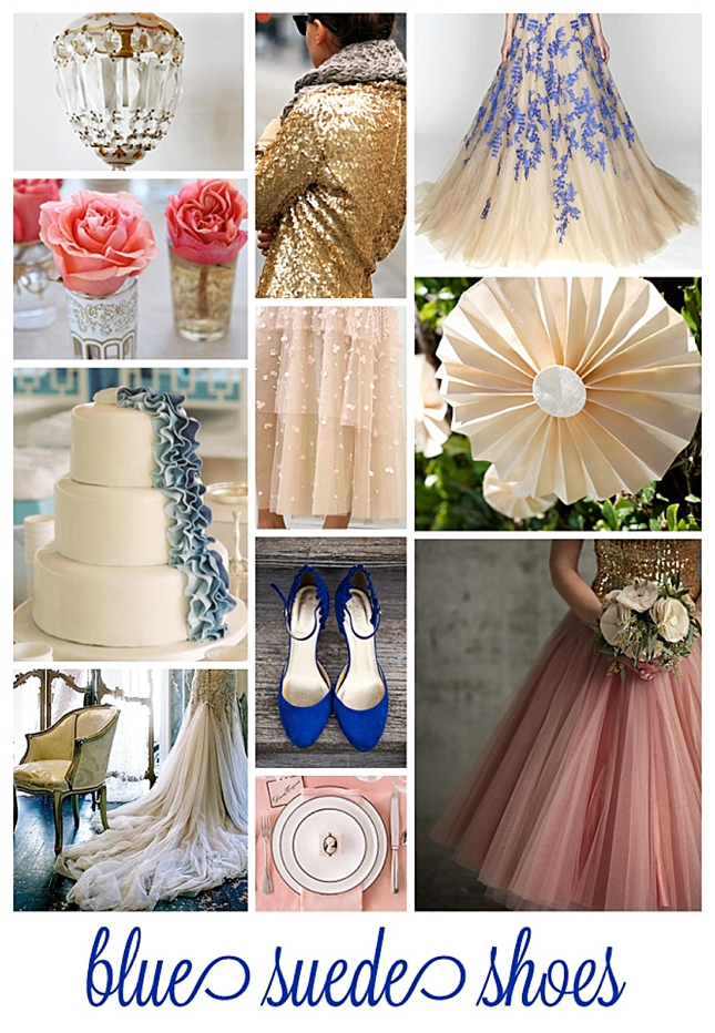 Blue Suede Shoes {Inspiration Board}