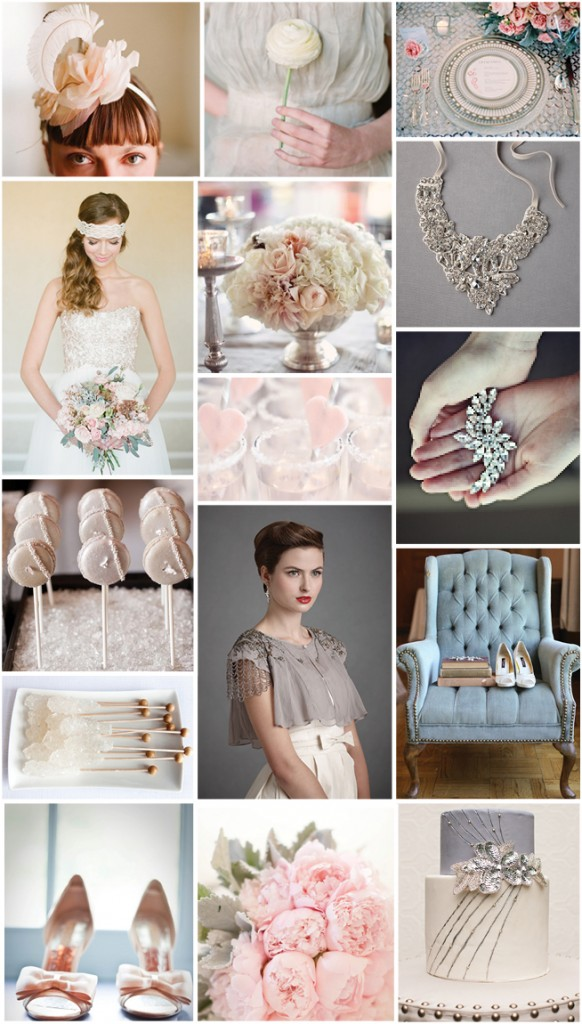 A Winter Romance {Inspiration Board}