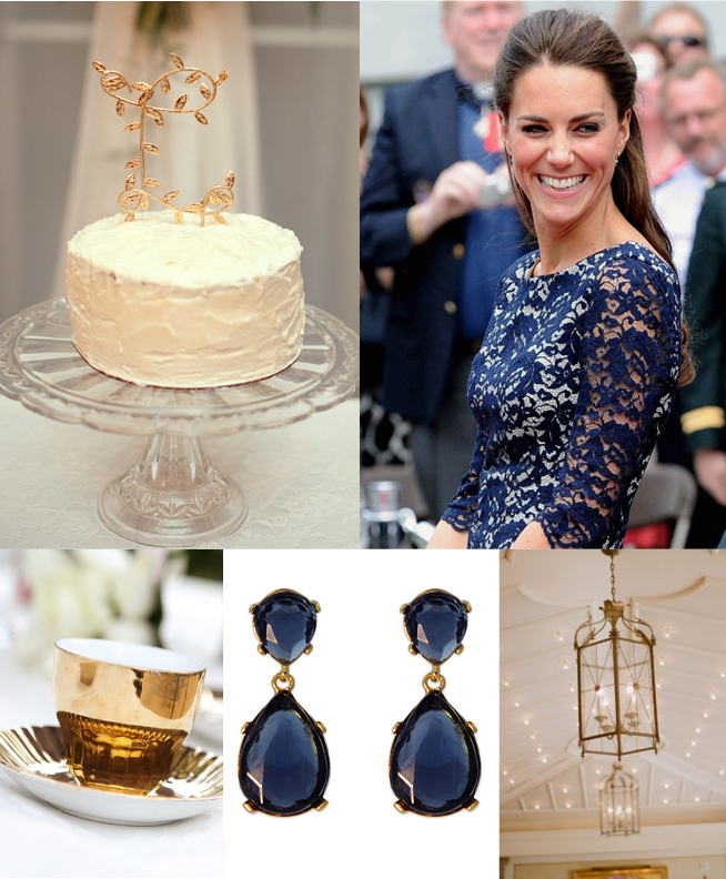 Blue Lace {Inspiration Board}