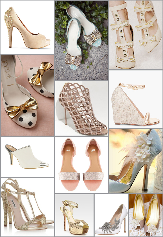 The Perfect Shoe {Inspiration Board}