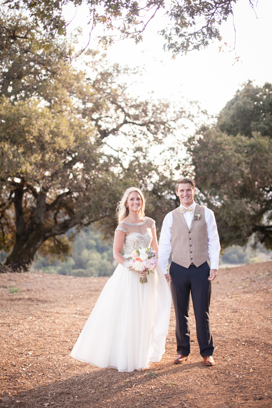 Allure Wedding: Sneak Peek!  Southern couple ties the knot in Sonoma