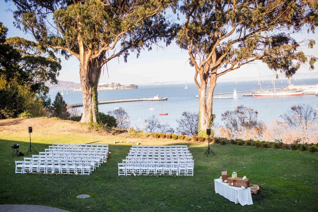 Allure Wedding: Sneak Peek!  General's Residence in SF